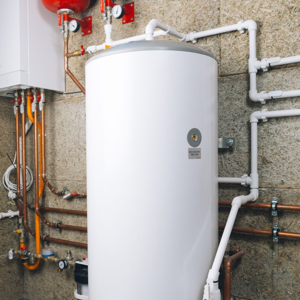 water heater in need of maintenance